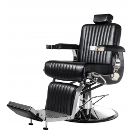 Barber tuoli Chrome