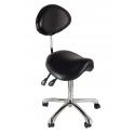 Satulan muotoinen masters tuoli selkänojalla, säädettävä Dynamic
